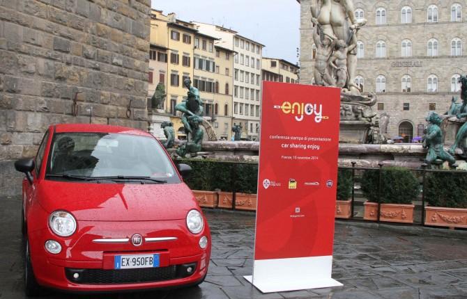 Il car sharing vola, Enjoy anche a Firenze