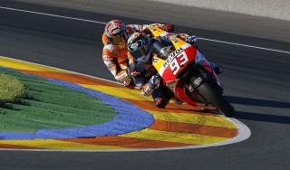 MotoGp, test Valencia: Marquez è il più veloce, quinto tempo per Rossi
