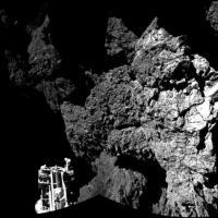 Rosetta, le prime foto dello sbarco sulla cometa