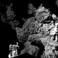 """Philae, il primo giorno """"seduto"""" sulla cometa"""