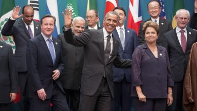 """Obama al G20: """"Contro cambiamenti climatici 3 mld di dollari a paesi emergenti"""""""