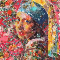 Dedizione e pazienza: i capolavori dell'arte con il nastro adesivo