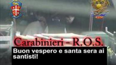 'Ndrangheta, quaranta arresti    Video   Filmato un rituale di affiliazione