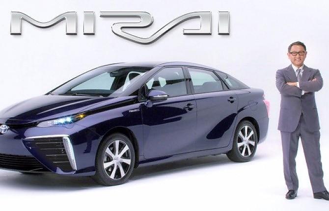 Mirai, la Toyota del futuro: ecco l'ultima vettura ad idrogeno