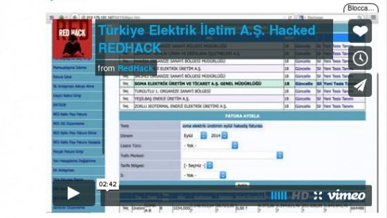 Gli hacker turchi cancellano le bollette della luce a migliaia di cittadini