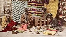 Il Giappone di fine Ottocento    nelle fotografie a colori