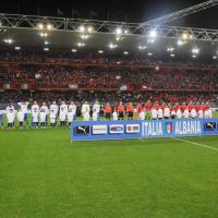 Italia-Albania, il film della partita