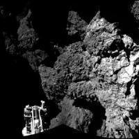 La cometa? Un blocco di ghiaccio durissimo con molecole organiche