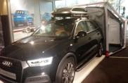 Nuovo accessorio per le Audi: la casa portatile...
