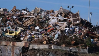 Discariche di rifiuti in Italia saranno piene entro 2 anni