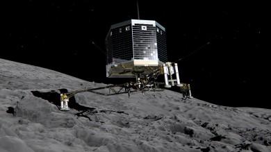 La cometa di Rosetta? Un blocco di ghiaccio con molecole organiche