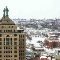 Usa, Buffalo si copre di bianco: arriva la prima neve