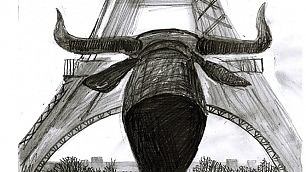 Nelle ombre in bianco e nero  c'è la Parigi di Anke   Il fumetto
