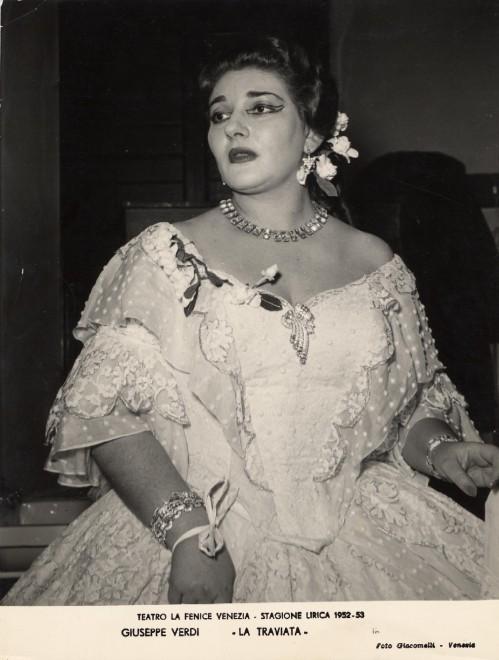 Cento volte Traviata: La Fenice festeggia mostrando la Callas segreta