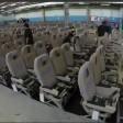 La revisione del gigante l'Airbus 380 rimesso a nuovo