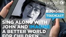 App per cantare  Imagine  con Lennon e altre star