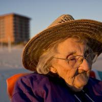 La prima a volta al mare a 101 anni: l'emozione di Ruby