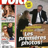 Hollande e Julie, le prime foto insieme all'Eliseo