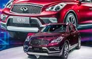 Debutto cinese per la rinnovata QX50