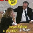 Hollande e Julie Gayet  le foto rubate all'Eliseo