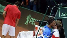 Wawrinka batte Tsonga  Monfils domina Federer Francia-Svizzera 1-1   foto