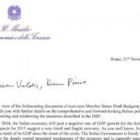 Padoan, lettera alla Ue: credete nelle nostre riforme