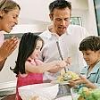 """""""Cenate con i figli andranno meglio  a scuola""""   interattivo"""
