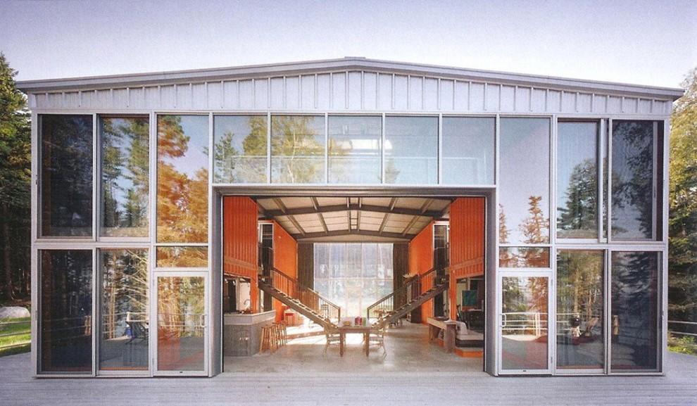 Ufficio A Container : Case ristoranti e uffici futuro e design in un container