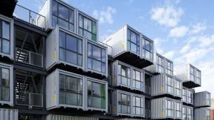 Case, negozi, ristoranti, uffici futuro e design nei container