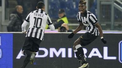 La Juve travolge la Lazio 3-0 e resta in testa