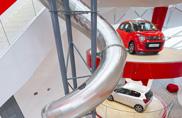 Twist Inside Citroen, l'ascensore che va di fretta
