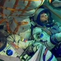 Samantha Cristoforetti nella Iss. La prima donna italiana nello spazio