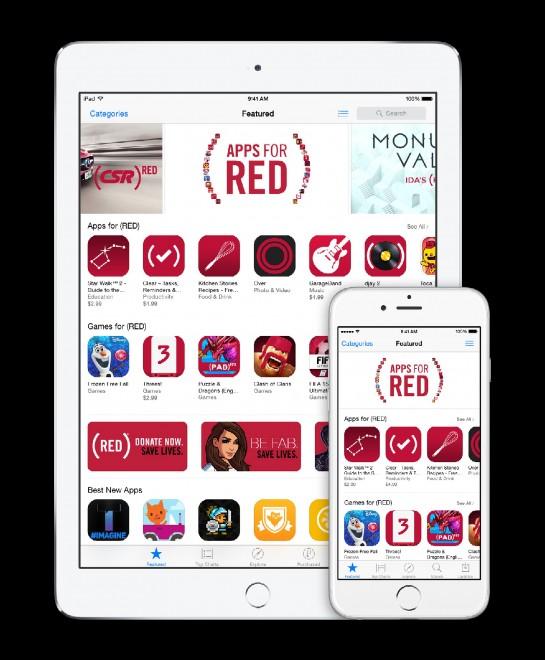 Apple sostiene con le App la raccolta dei fondi contro l'Aids