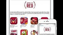 Apps for RED, la raccolta fondi contro l'Aids