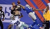 Il più bel touchdown di sempre non salva i Giants   foto   /   video
