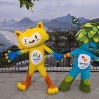 Un felino e un albero: ecco le mascotte di Rio 2016, sondaggio online per i nomi