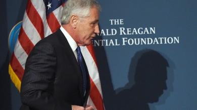 Usa, si dimette il ministro della Difesa  Obama ha chiesto ad Hagel di lasciare