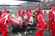 Gran finale al Motor Show con la Scuderia Ferrari