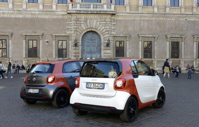 Motor Show di Bologna, smart in pole position