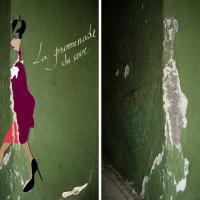 Da calcinacci a illustrazioni: i muri scrostati prendono vita