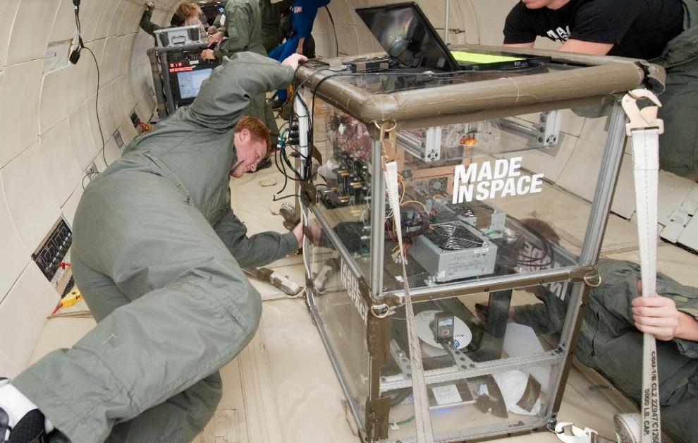 Made in space, primo oggetto stampato in 3D sulla Iss
