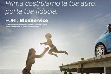 BlueService, idea Ford per l'assistenza