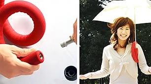 Quante idee sotto la pioggia Ombrelli semplificano la vita