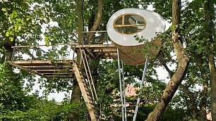 La casa sull'albero mai vista