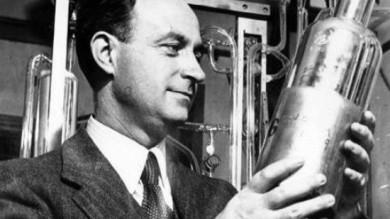 Enrico Fermi a 60 anni dalla morte   foto   icona dei cervelli italiani in fuga
