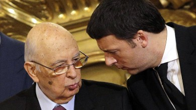 """Riforme, Renzi va un'ora al Quirinale e in tv garantisce:""""Chiudiamo a gennaio"""""""