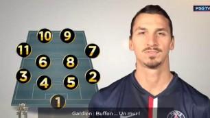 Ecco la squadra ideale di Ibra 2 gli italiani: Buffon e Cannavaro