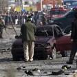 Motociclista kamikaze  contro veicolo britannico In Afghanistan -   video   morti cinque civili, 34 feriti