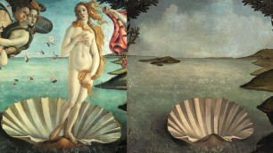 La Venere senza Venere Le opere d'arte si svuotano