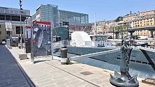 """Genova, belle arti tour con vista Porto    foto     RNews  """"Oltre il fango"""""""